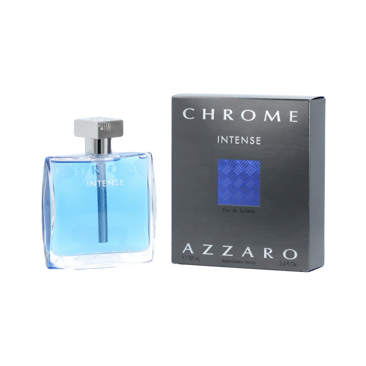 193ada45a4bafb Azzaro Chrome Intense Eau De Toilette 100 ml (man) - Chrome Intense ...