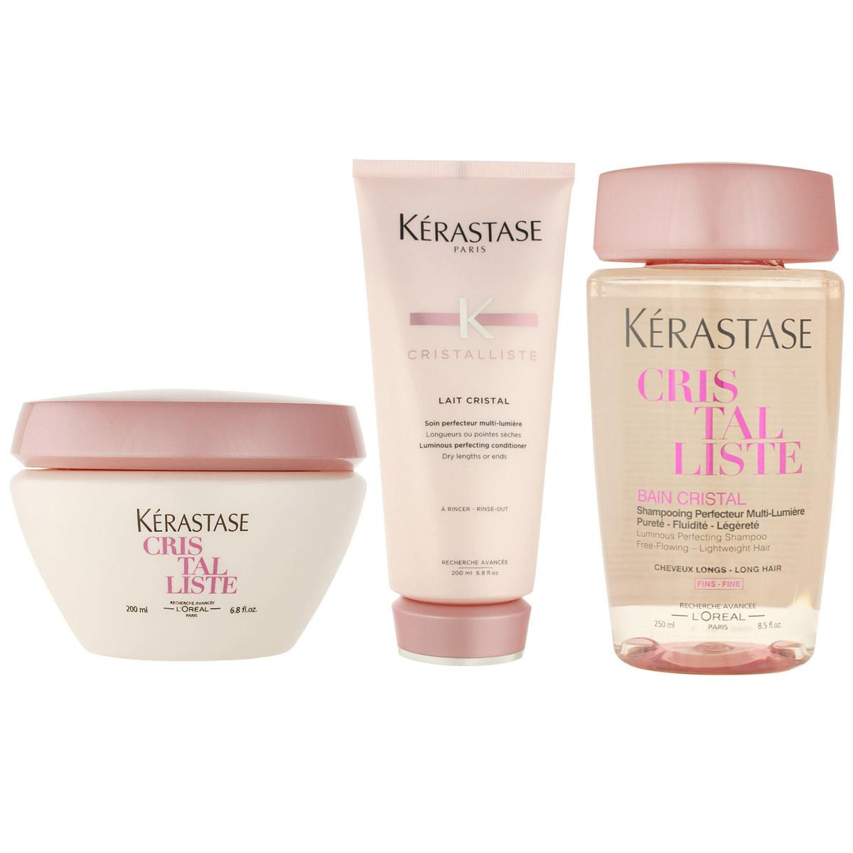 K rastase cristalliste bain cristal luminous perf shampoo for Kerastase bain miroir conditioner