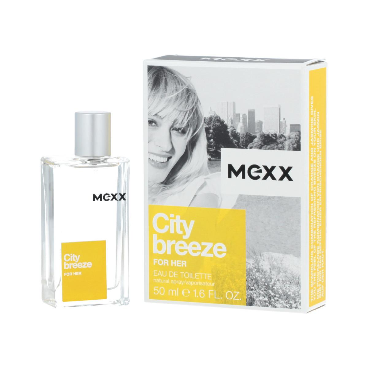 8321b16345f Mexx City Breeze For Her Eau De Toilette 50 ml (woman) - City Breeze ...
