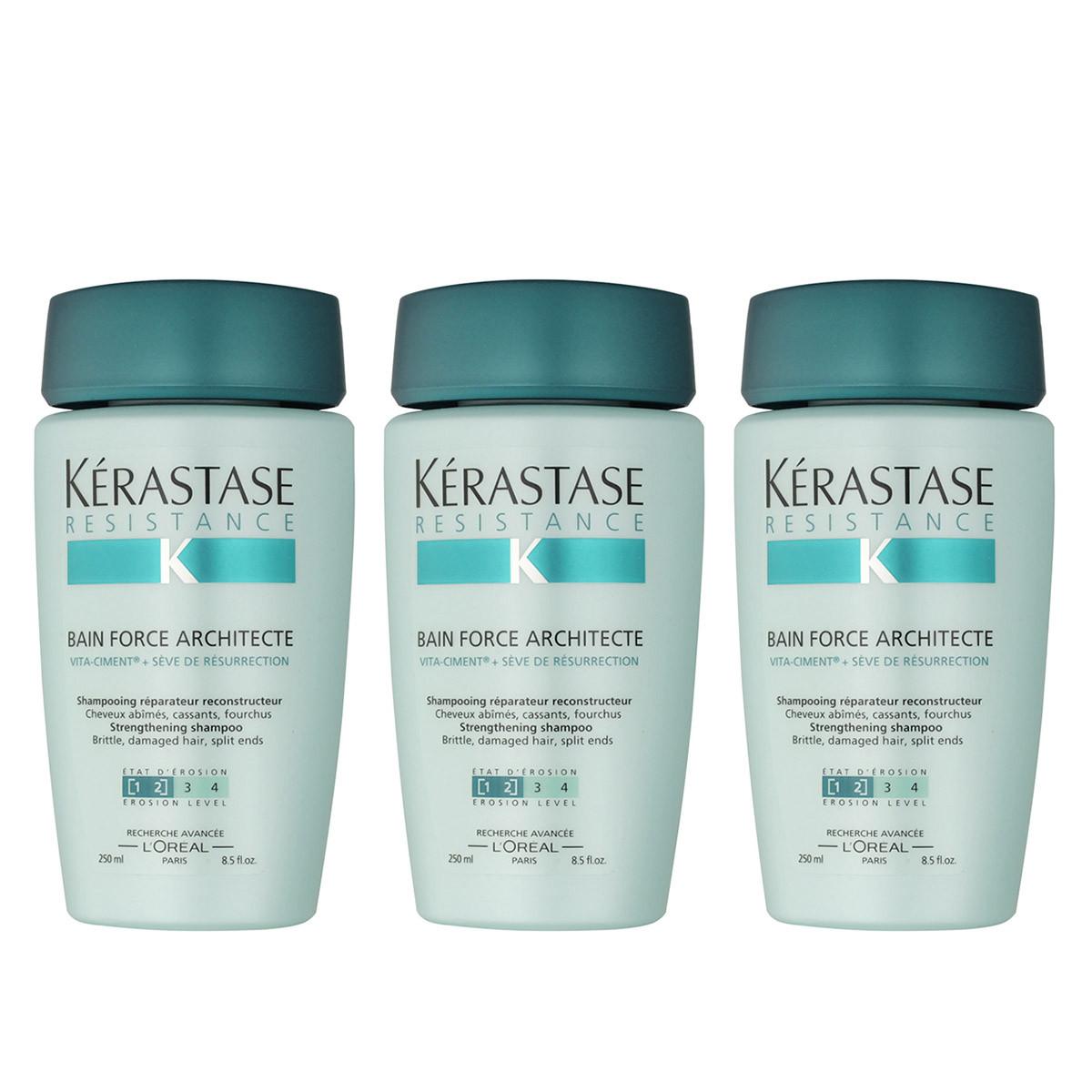 K rastase r sistance bain force architecte 1 2 250 ml for Kerastase bain miroir 1 vs 2