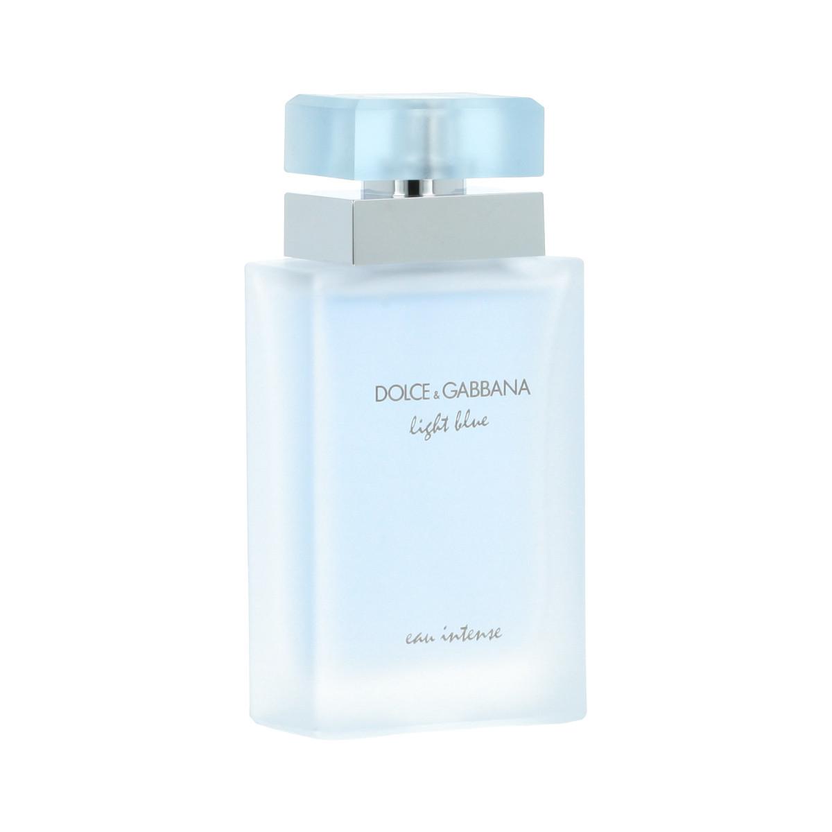dolce gabbana light blue eau intense eau de parfum 50 ml woman light blue eau intense. Black Bedroom Furniture Sets. Home Design Ideas