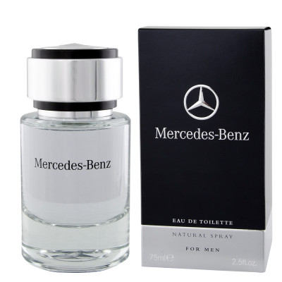 mercedes benz mercedes benz eau de toilette 75 ml man. Black Bedroom Furniture Sets. Home Design Ideas