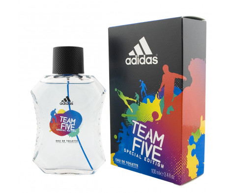 Adidas Team Five Eau De Toilette 100 ml (man)