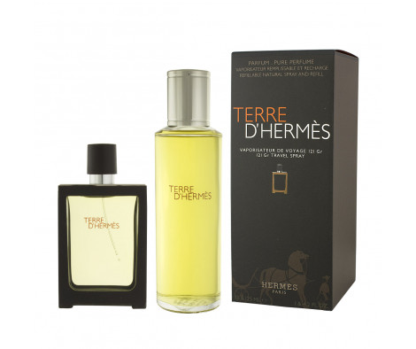 Hermès Terre D'Hermès Parfum Nachfüllbar 30 ml + Parfum Nachfüllung 125 ml (man)