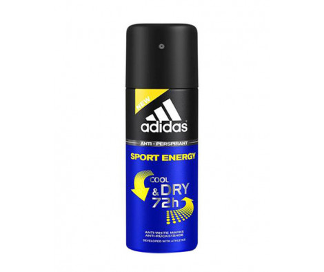 Adidas Sport Energy Cool & Dry 72h Antiperspirant Deodorant 150 ml (man)