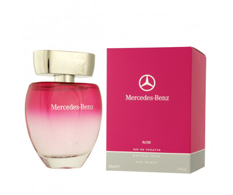 mercedes benz rose eau de toilette 90 ml woman rose. Black Bedroom Furniture Sets. Home Design Ideas