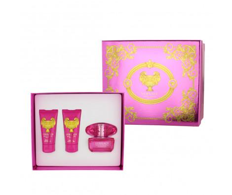 Versace Bright Crystal Absolu EDP 50 ml + SG 50 ml + BL 50 ml (woman)
