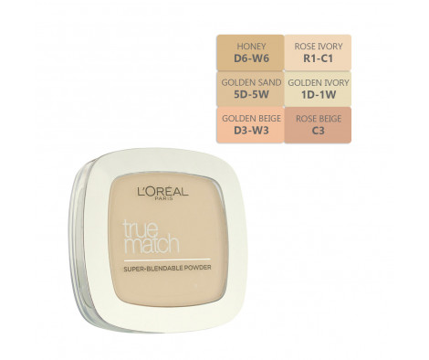 L´Oreal Paris True Match Super-Blendable Powder 9 g
