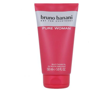 bruno banani pure woman duschgel 150 ml woman pure. Black Bedroom Furniture Sets. Home Design Ideas