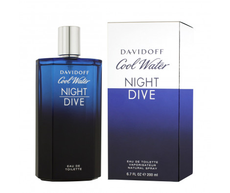 Davidoff Cool Water Night Dive Eau De Toilette 200 ml (man)