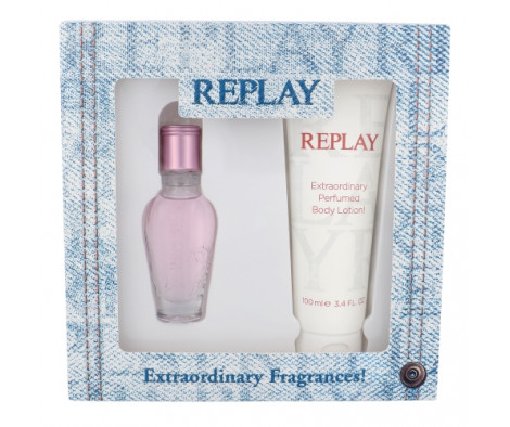 Replay Jeans Spirit! for Her EDT 20 ml + BL 100 ml (woman)