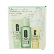 Clinique 3-Step Skin Care System 1 (Very Dry to Dry Skin) 180 ml