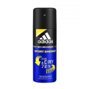 Adidas Sport Energy Cool & Dry 72h Antiperspirant Deodorant 150 ml (man)