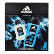 Adidas Ice Dive EDT 100 ml + SG 250 ml (man)