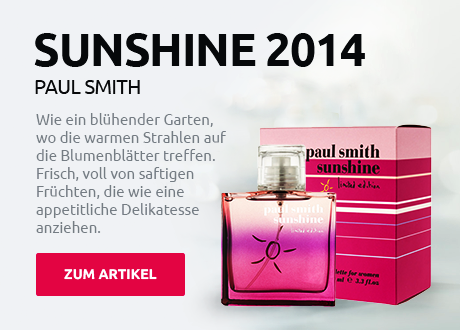 Paul Smith Sunshine Edition for Women 2014 Eau De Toilette 100 ml (woman)